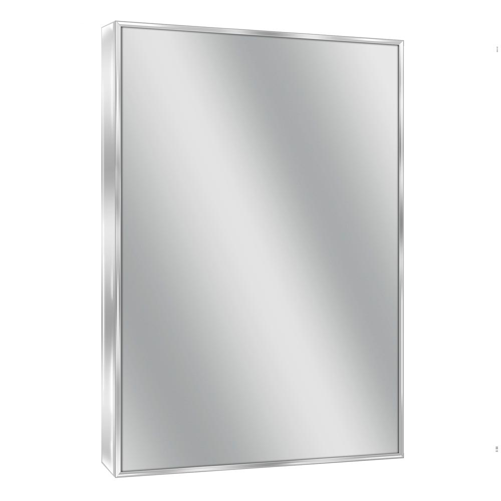 Spectrum 22 in. W x 34 in. H Metal Framed Wall