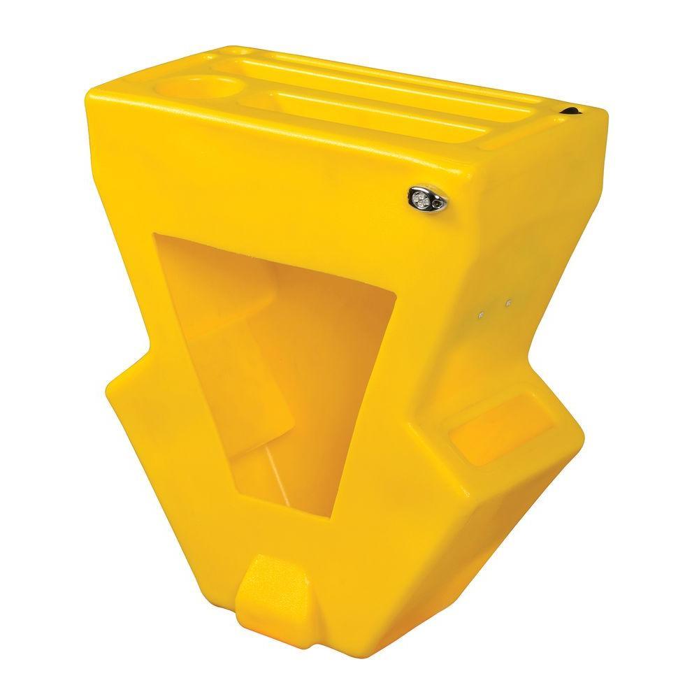 Vestil Economical Yellow Pallet Truck Caddy with LED Lights by Vestil