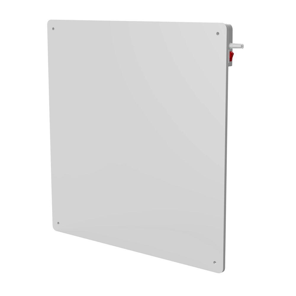 Eco-Heater 400-Watt Electric Wall Panel Heater with built-in Thermostat