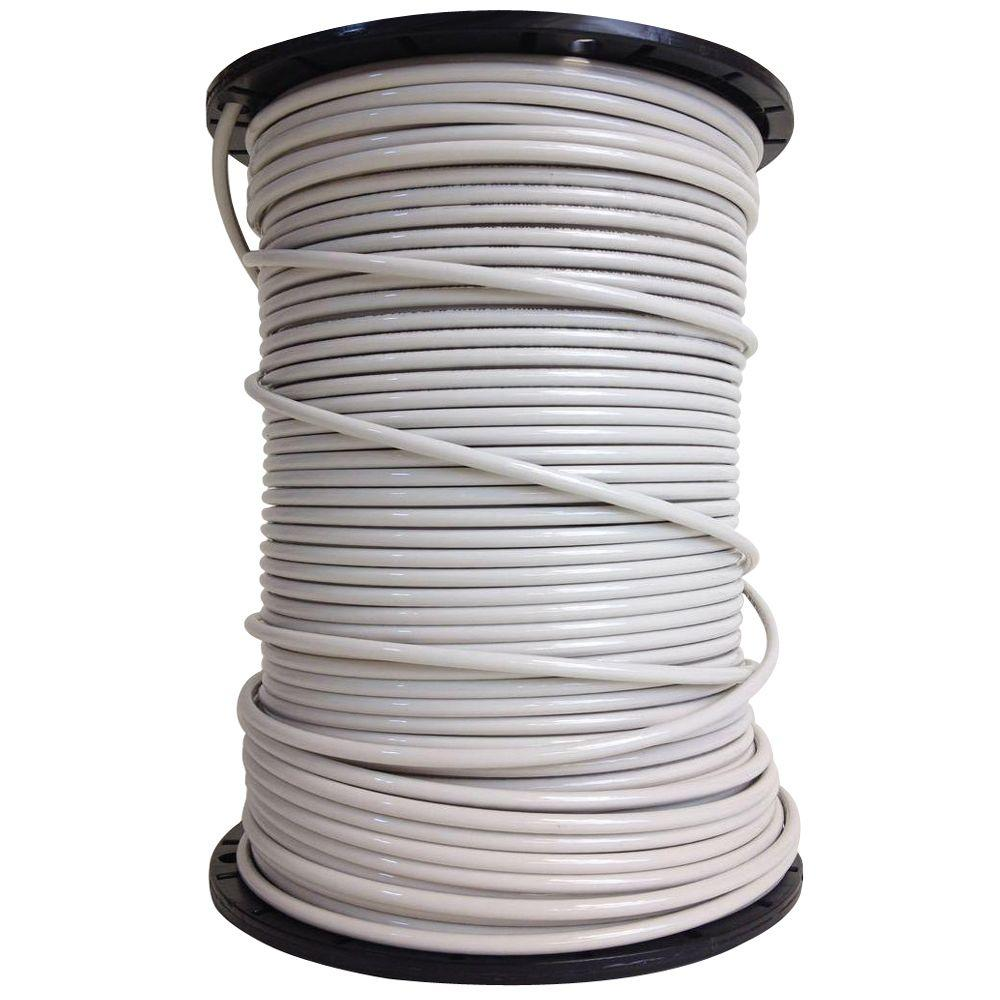 Southwire 500 ft. 10 White Stranded CU XHHW Wire-37112003 - The Home ...