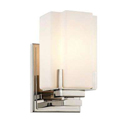 cheap wall sconce lighting. Taylor 1-Light Polished Nickel Wall Sconce With Glass Shade Cheap Lighting