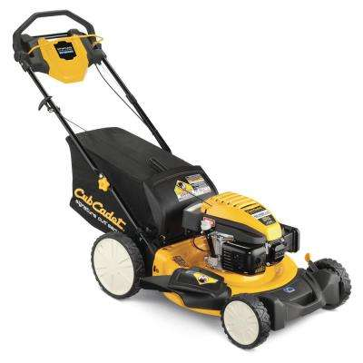 21 in. 159cc 3-in-1 High Rear Wheel RWD Gas Walk Behind Self Propelled Mower