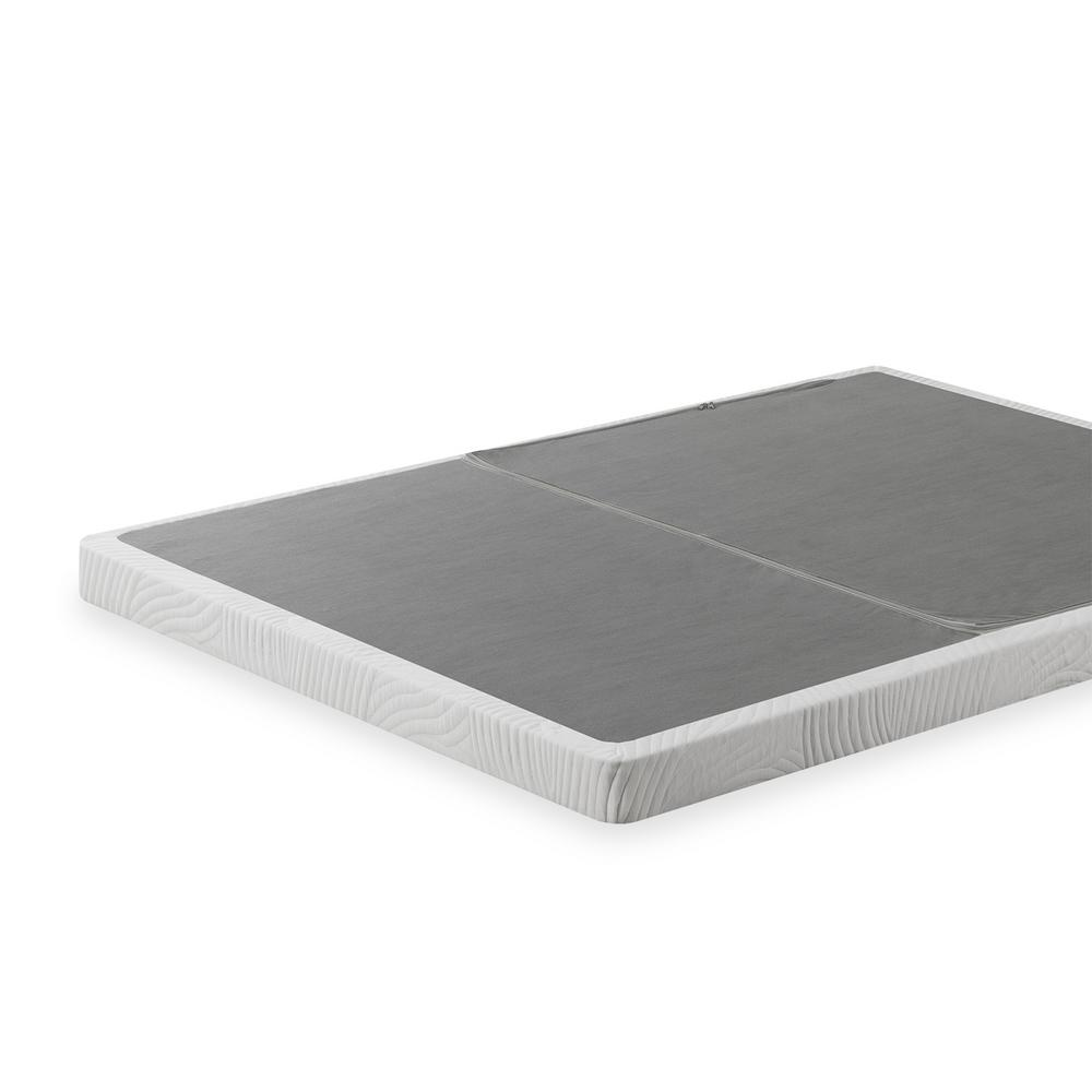 Jayanna King Metal Low Profile BiFold Box Spring with Steel Frame
