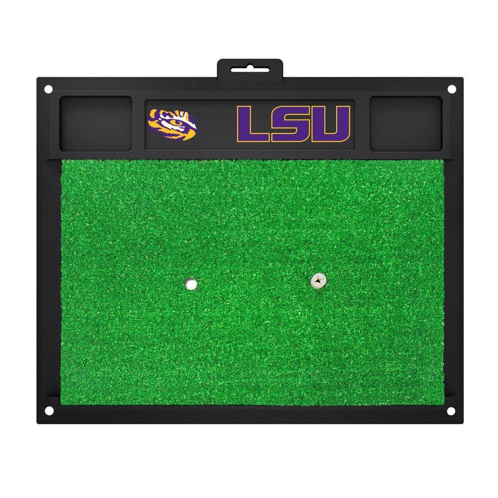 NCAA Louisiana State University 17 in. x 20 in. Golf Hitting Mat