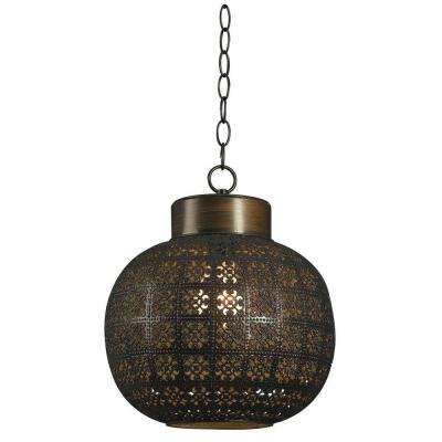 Bronze Bohemian Pendant Lights Lighting The Home Depot