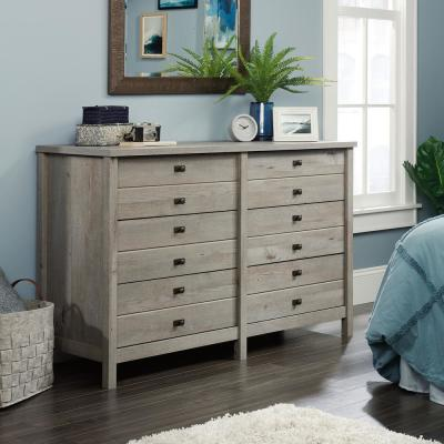 Cottage Road 6-Drawer Mystic Oak Dresser