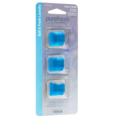 Soft & Fresh Laundry Refill Scent Pack for Purefresh Toilet Seat
