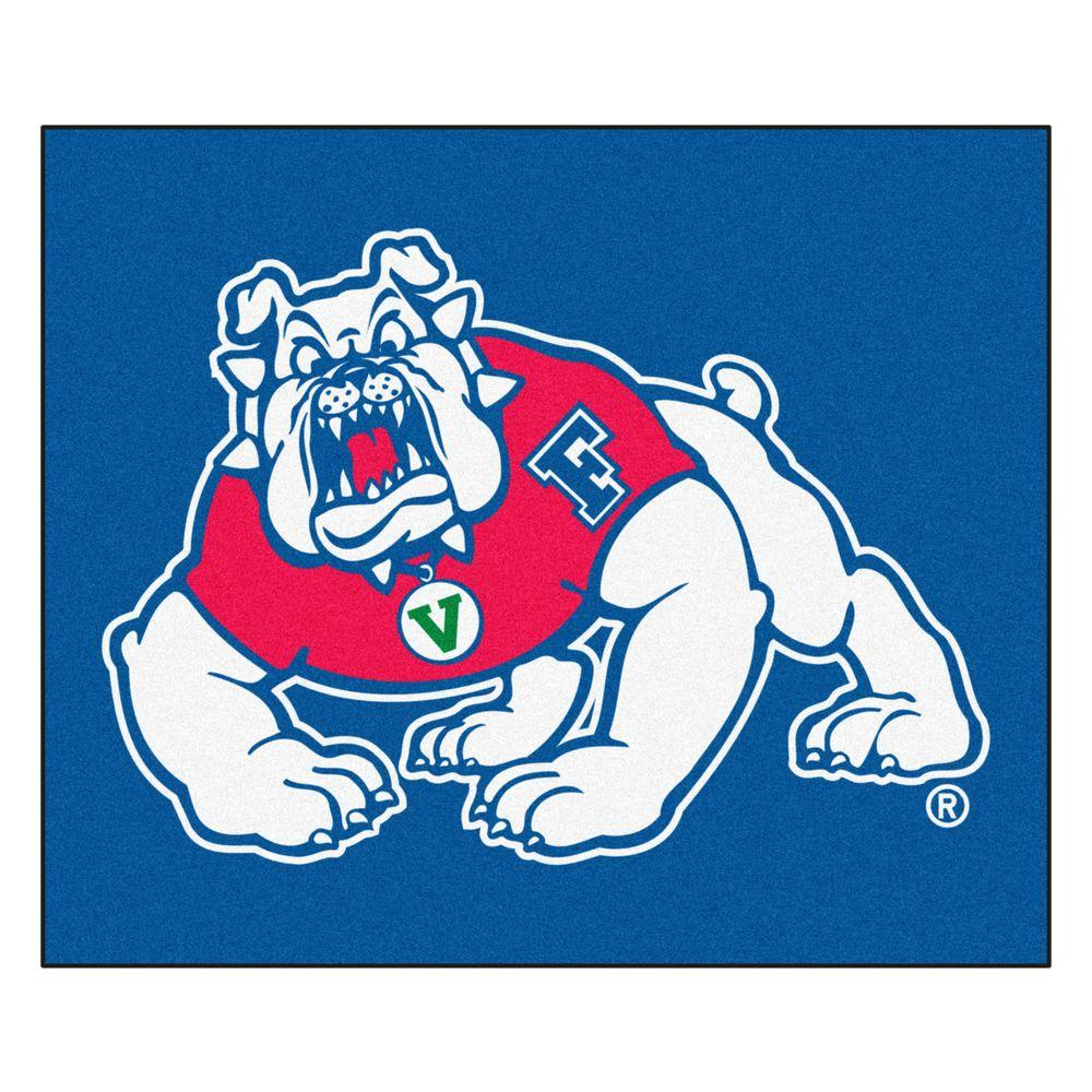 FANMATS Fresno State University 5 ft. x 6 ft. Area Rug