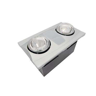 Light heater bath fans bathroom exhaust fans the - Bathroom ceiling light with heater ...