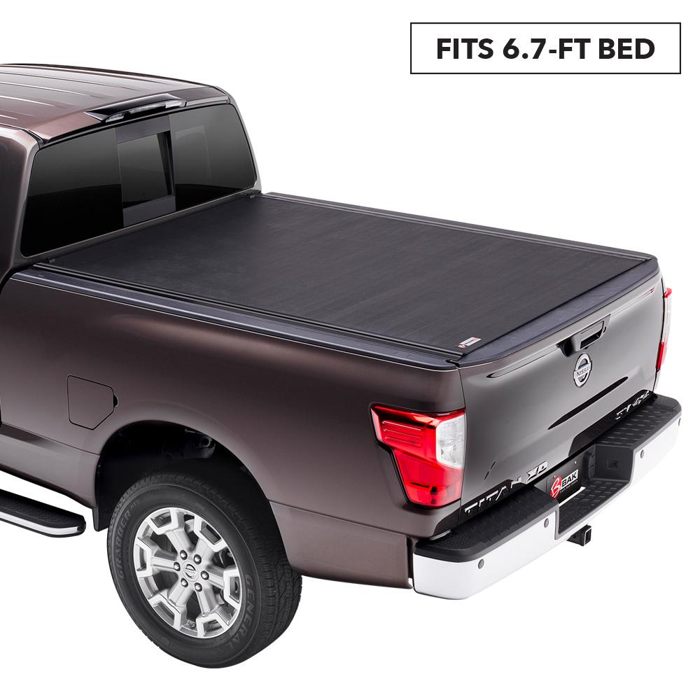Rolling Truck Bed Covers >> Bak Industries Revolver X2 Tonneau Cover For 04 15 Titan 6 Ft 7 In Bed
