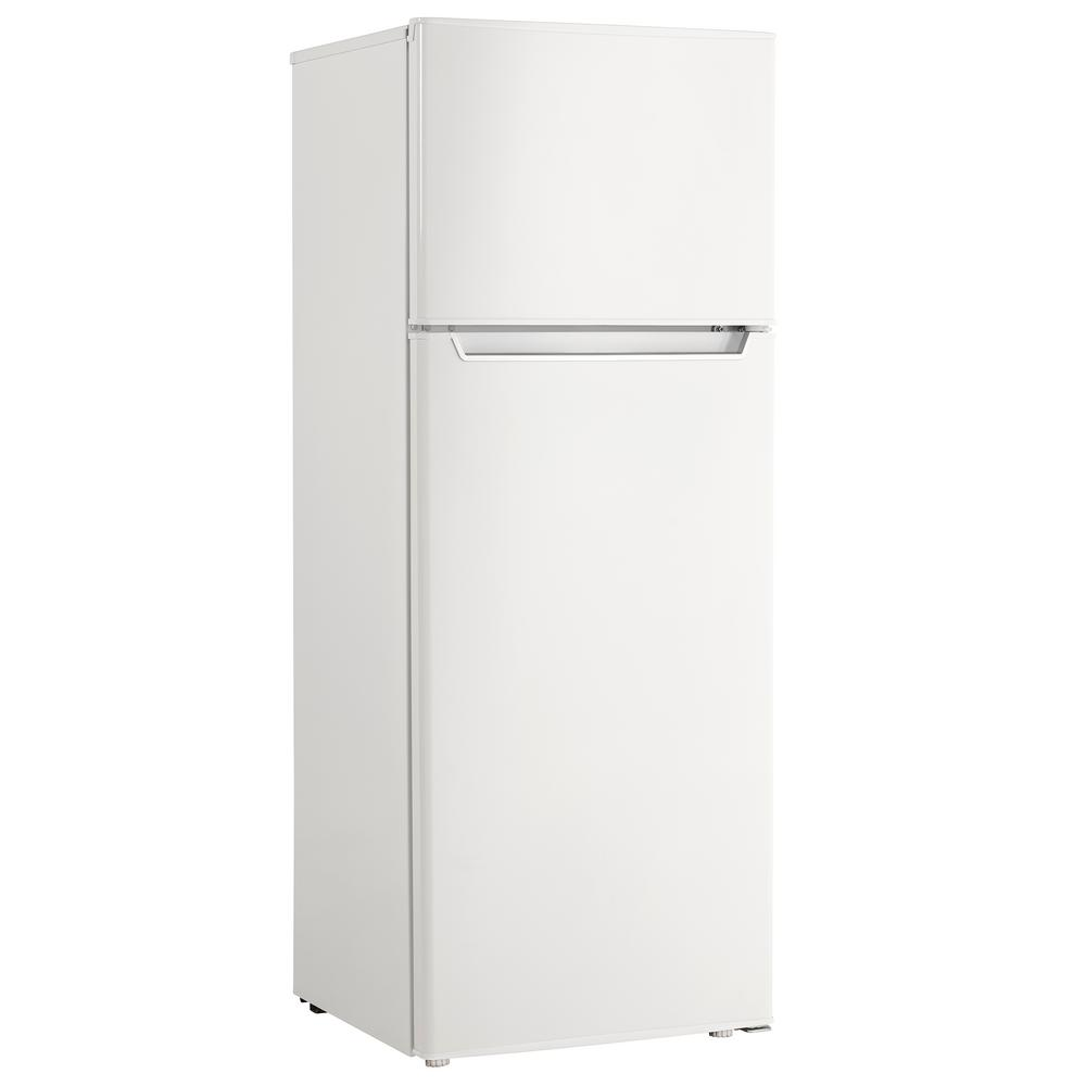 Danby 7.3 cu. ft. Top Freezer Refrigerator in White, Counter Depth