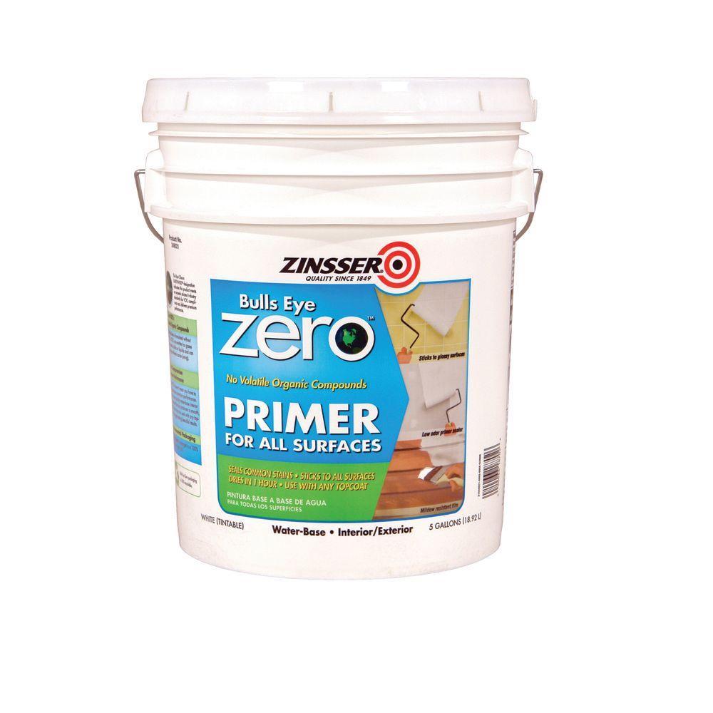 Zinsser Bullseye Zero 5-gal. White Primer-DISCONTINUED
