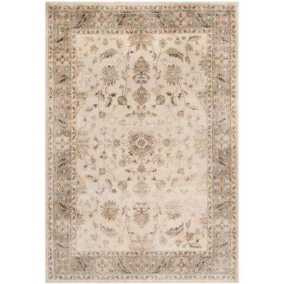 Vintage Stone/Mouse 8 ft. 10 in. x 12 ft. 2 in. Area Rug