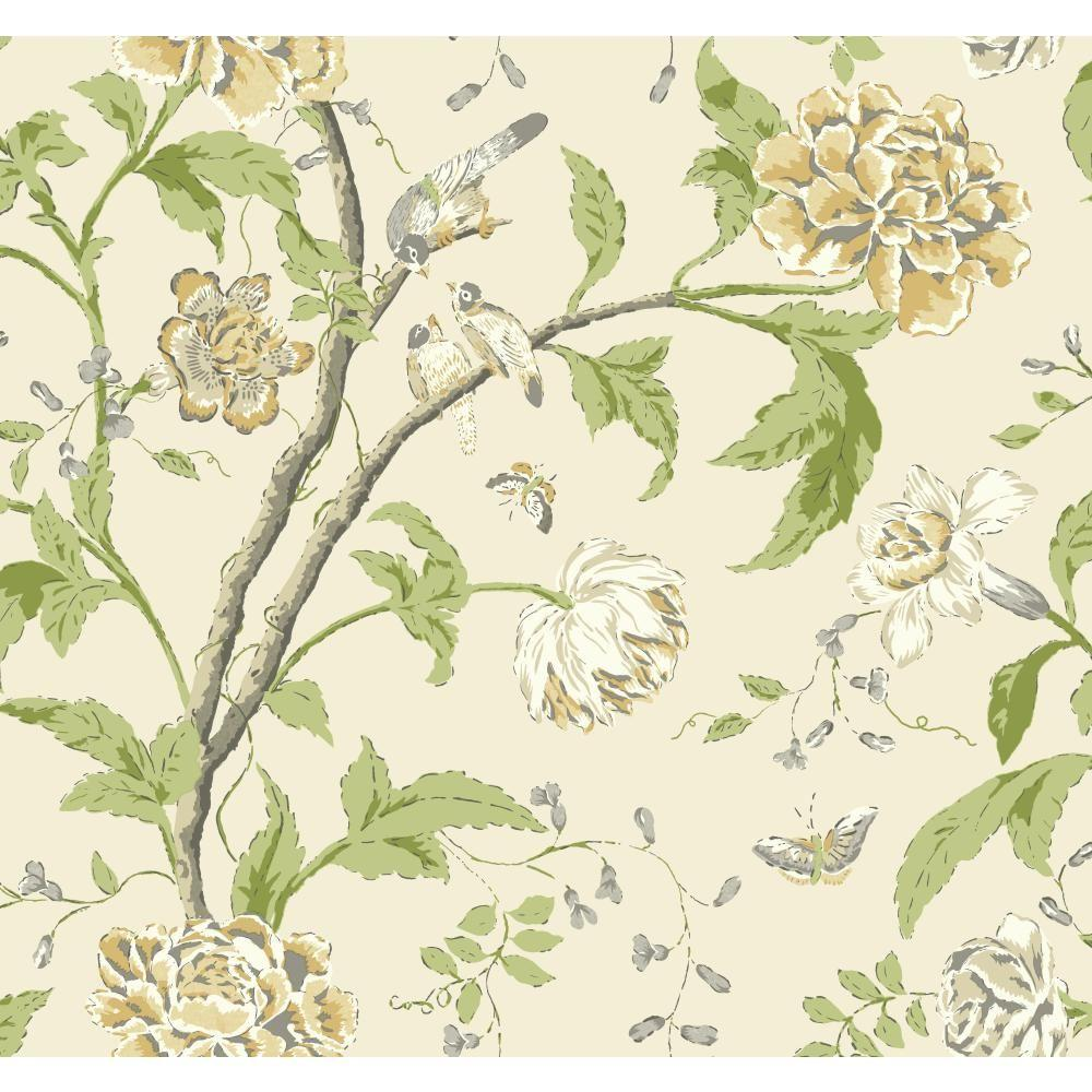 Carey Lind Vibe Teahouse Floral Wallpaper