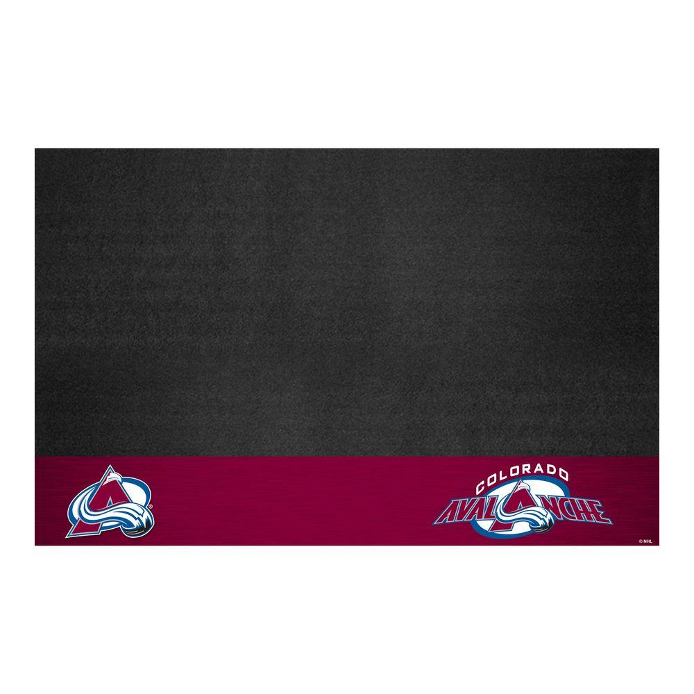 FANMATS Colorado Avalanche 26 in. x 42 in. Grill Mat