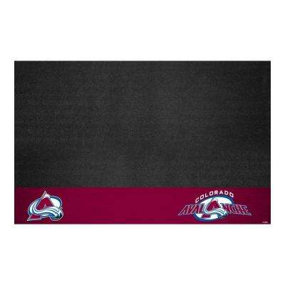 Colorado Avalanche 26 in. x 42 in. Grill Mat