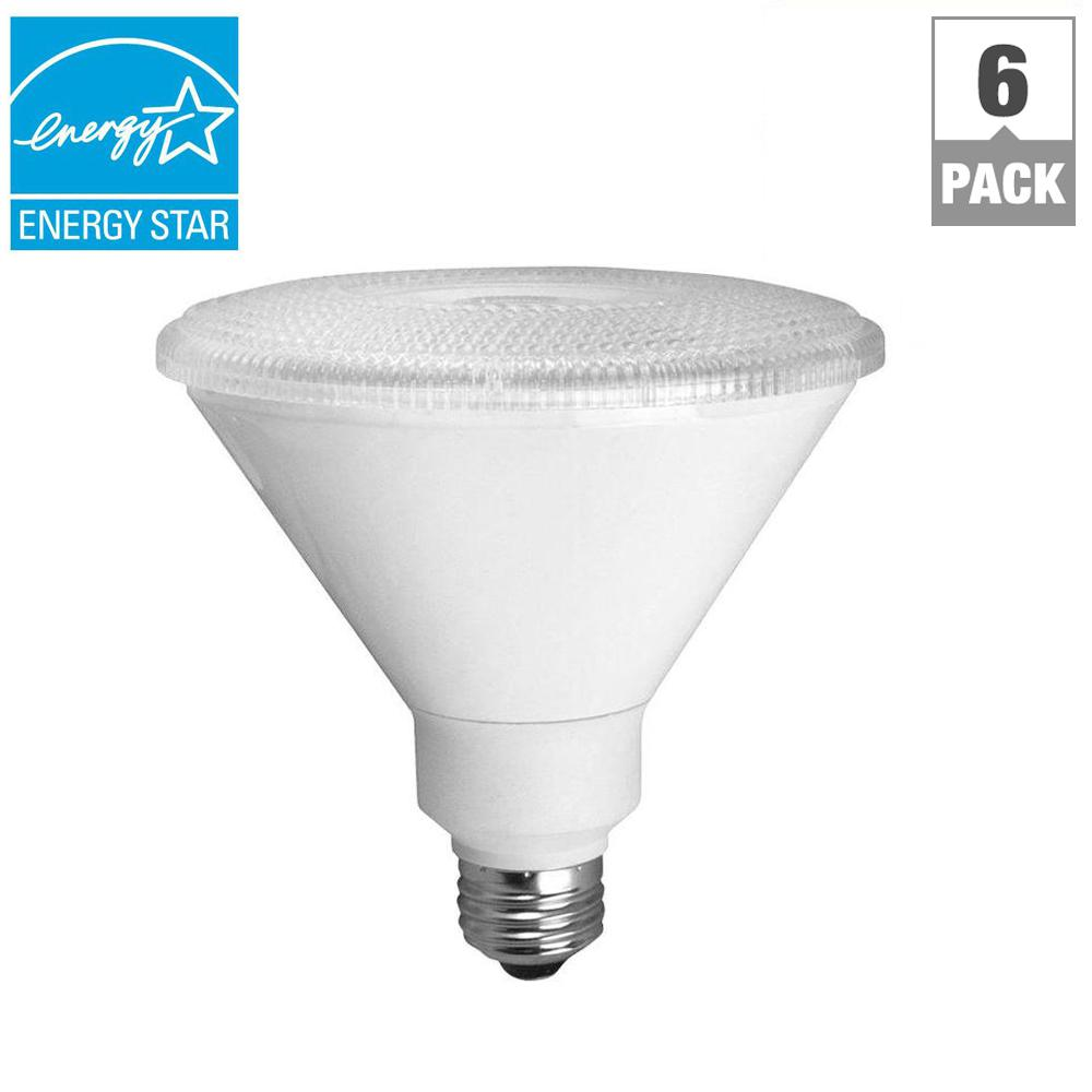 TCP 90W Equivalent Bright White (3000K) PAR38 Dimmable LED