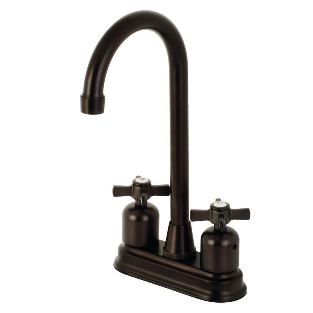 Millennium 2-Handle Bar Faucet in Oil Rubbed Bronze