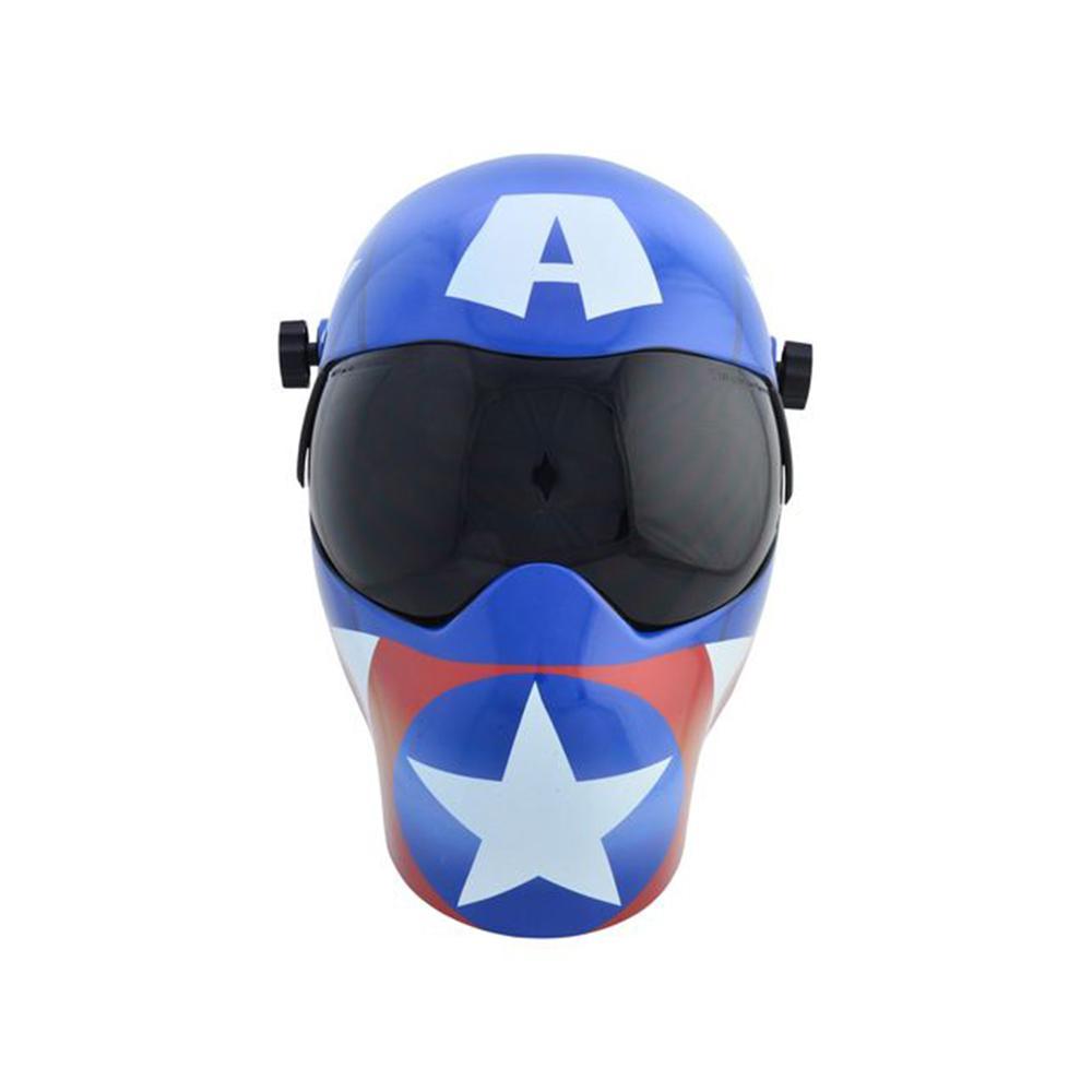 B-Series Marvel Avengers Captain America EFP Grinding Helmet