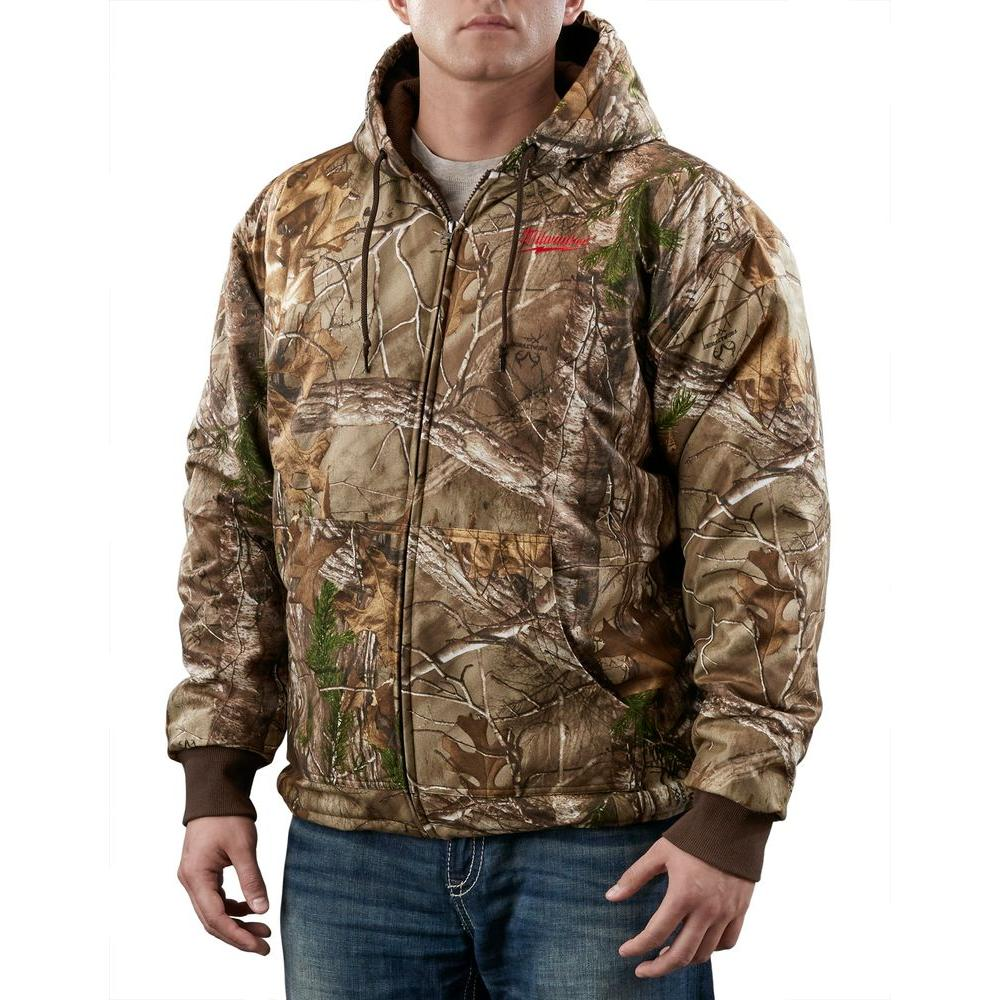 Milwaukee 3X-Large M12 Cordless Lithium-Ion Realtree Xtra Camo Heated (Hoodie Only)