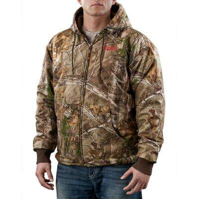 Large M12 Cordless Lithium-Ion Realtree Xtra Camo Heated Hoodie Kit (Battery and Charger Included)