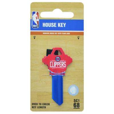 #68 LA Clippers House Key