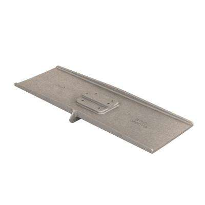 24 in. x 8 in. Square End Aluminum Flying Groover 3/8 in. x 3/4 in. Single Bit