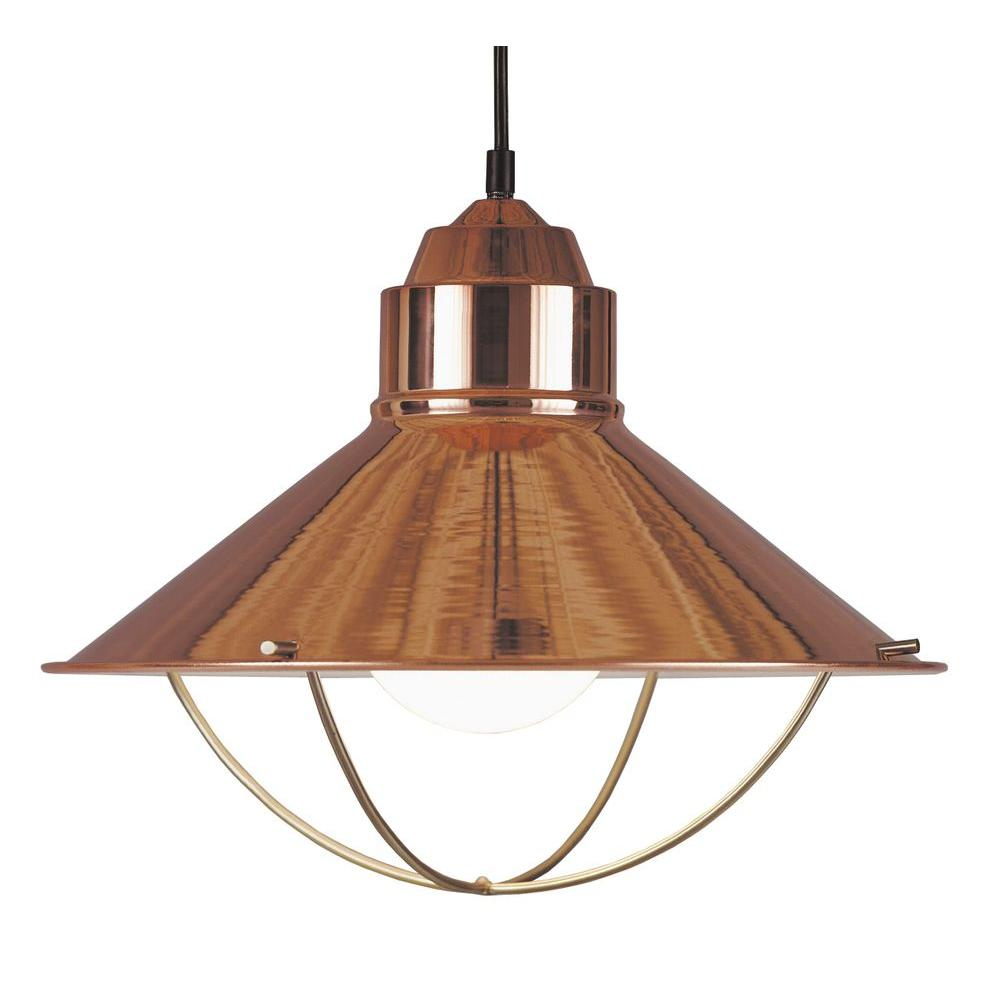 Kenroy Home Harbour 1-Light Copper Pendant