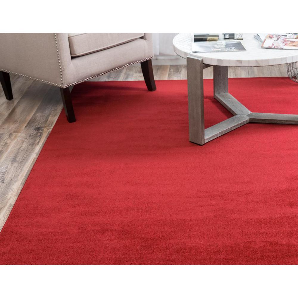 Unique Loom Williamsburg Solid Red 10