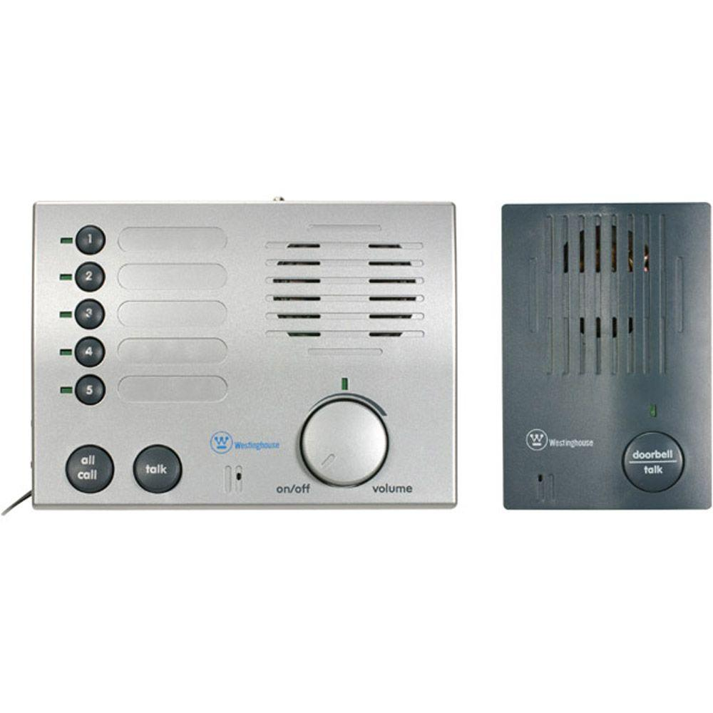 Westinghouse 5-Channel Wireless Doorbell Intercom Station-DISCONTINUED