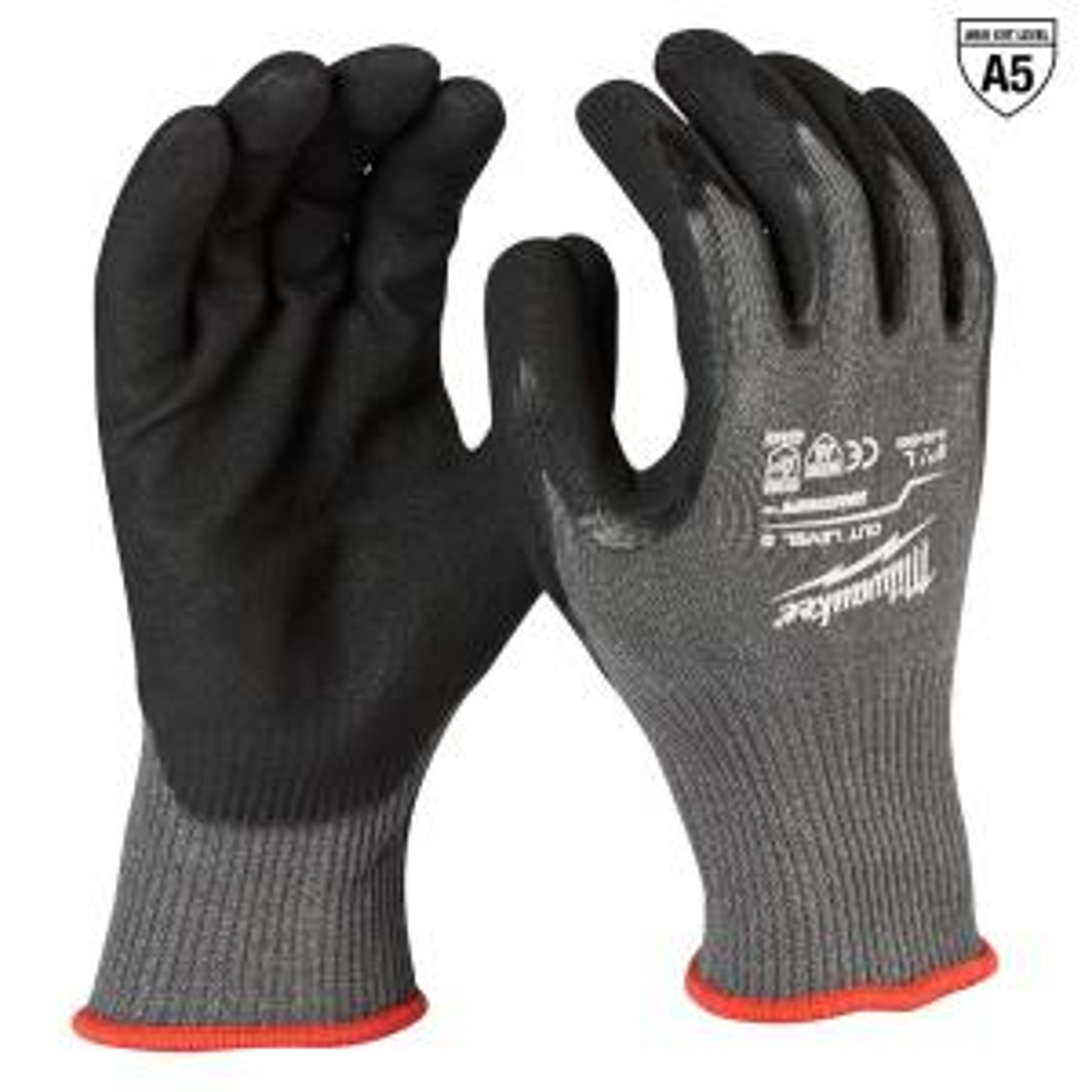 size 8 Dependable Performance Lovely Milwaukee Hand Tools Demolition Gloves Medium