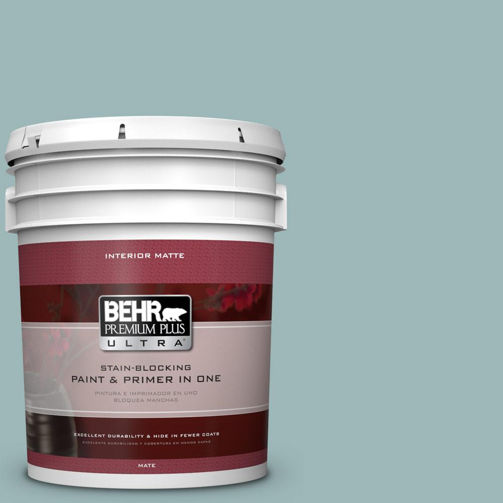 BEHR Premium Plus Ultra 5 gal. #PPU13-12 Harmonious Flat/Matte Interior Paint