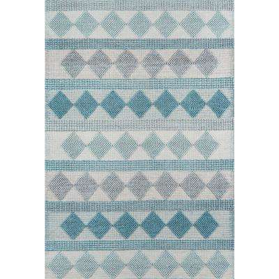 Andes Blue 6 ft. X 9 ft. Indoor Area Rug