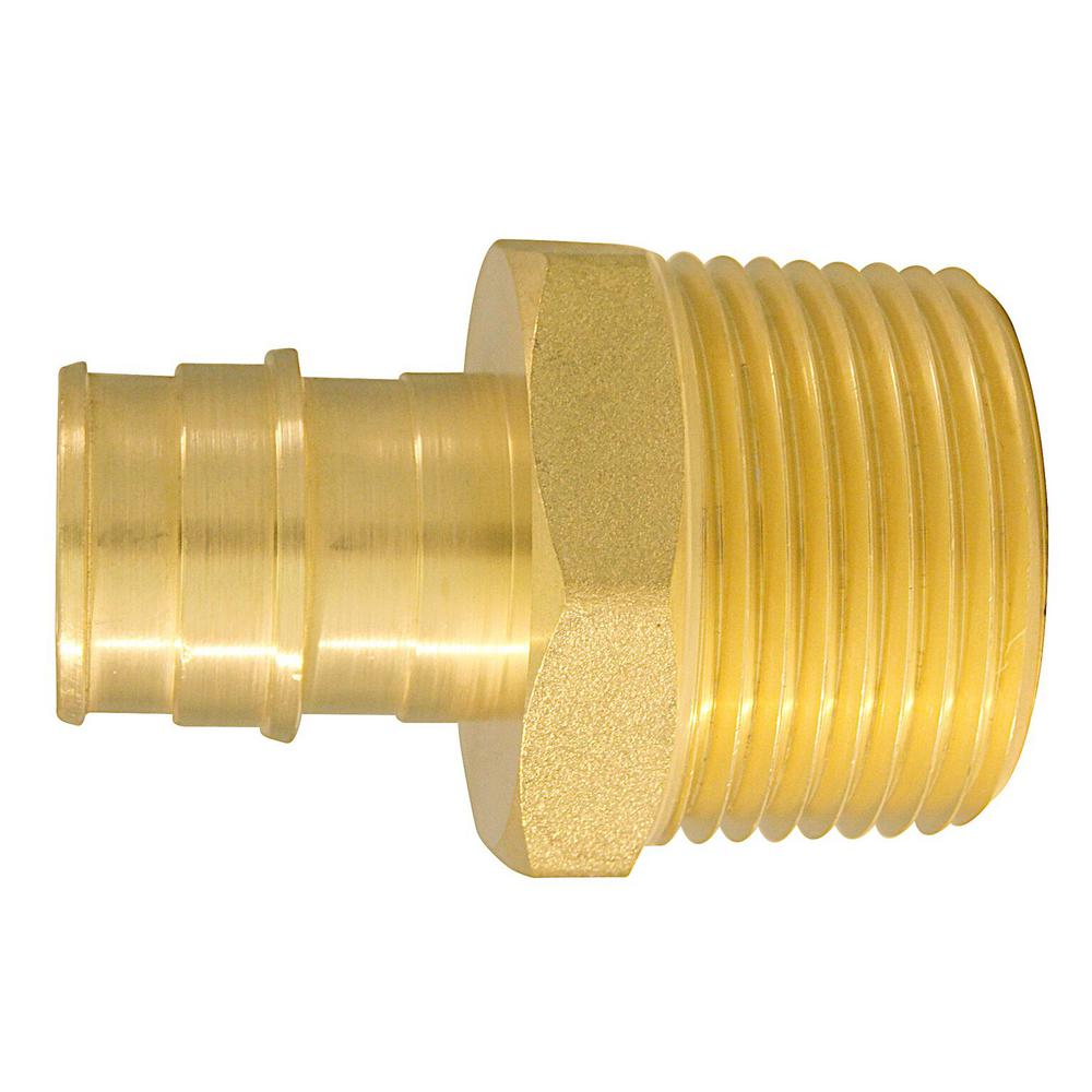 3/4 in. Brass PEX-A Expansion Barb x 1 in. MNPT Male
