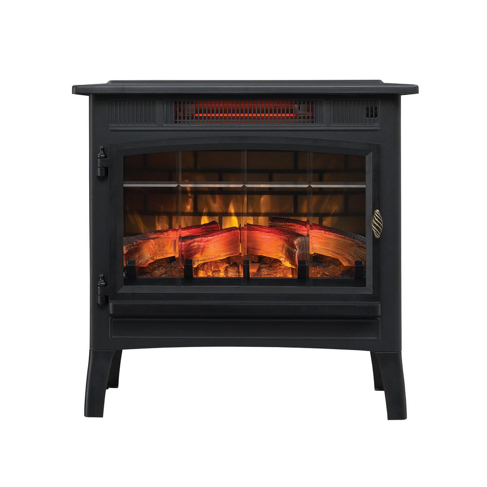 Dimplex Traditional 400 Sq Ft Electric Stove In Red