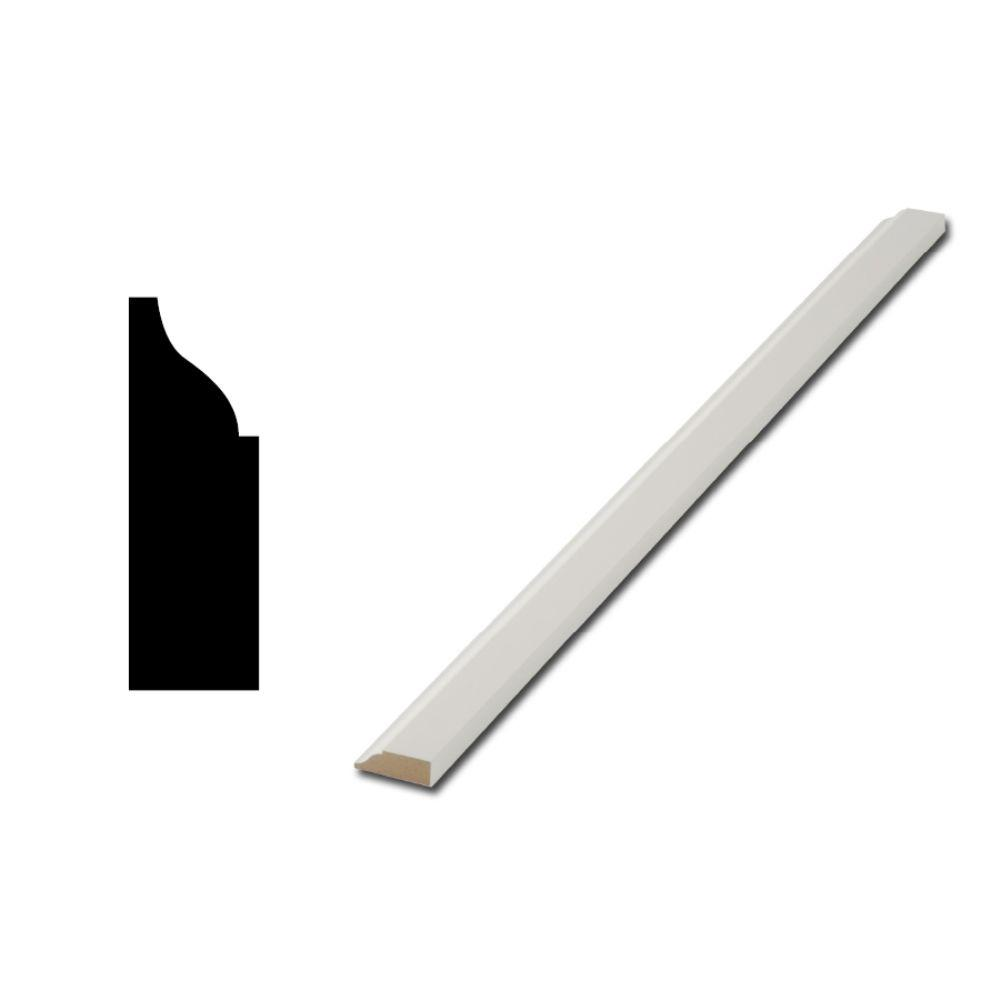 Finished Elegance WM937 7/16 in. x 1-1/4 in. MDF Door and Window Stop Moulding