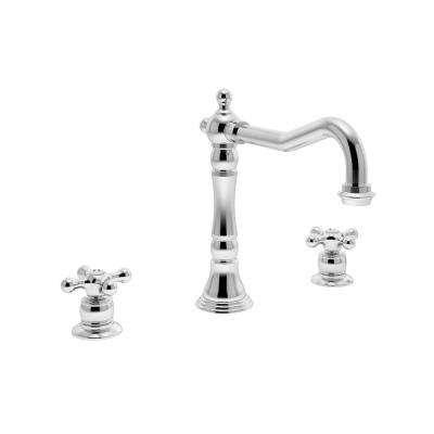 Carrington 2-Handle Standard Kitchen Faucet in Chrome