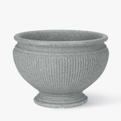 16 in. Concrete Resin Marseille Urn