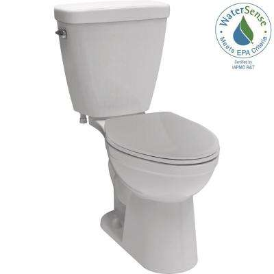 Prelude 2-piece 1.28 GPF Single Flush Elongated Front Toilet in White