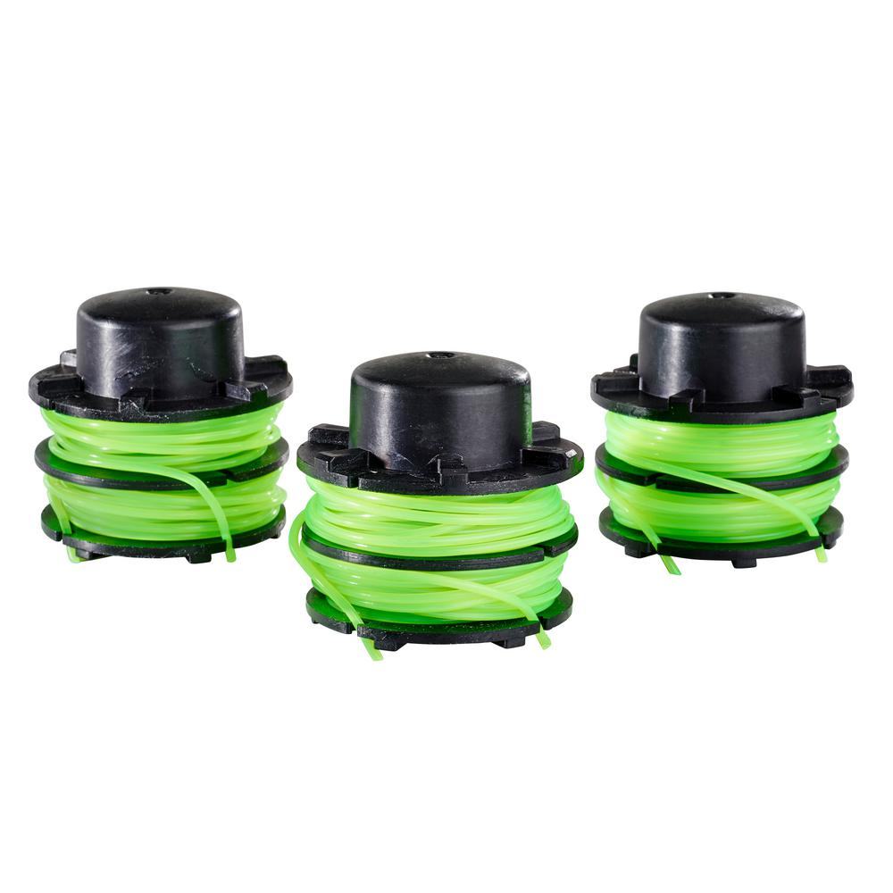 Toro 0.080 in. Dual Line Replacement Spool for 14 in. 40-Volt Trimmers (3-Pack)