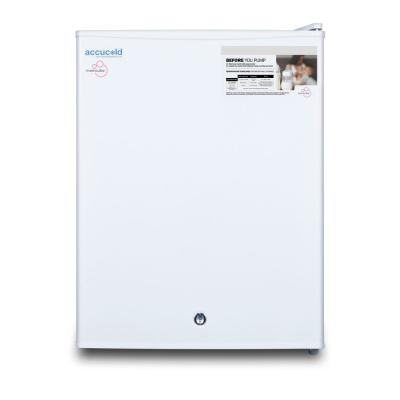 MOMCUBE 1.8 cu. ft. Breast Milk Upright Freezer in White