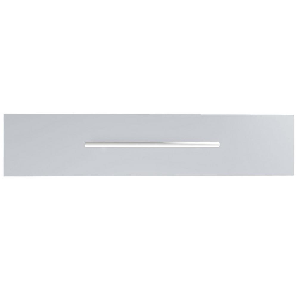 Sunstone Designer Series Raised Style 30 in. x 6.5 in. 304 Stainless Steel Access Drawer