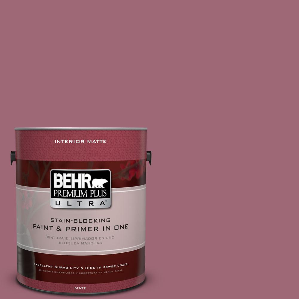 1 gal. #100D-5 Berries and Cream Flat/Matte Interior Paint