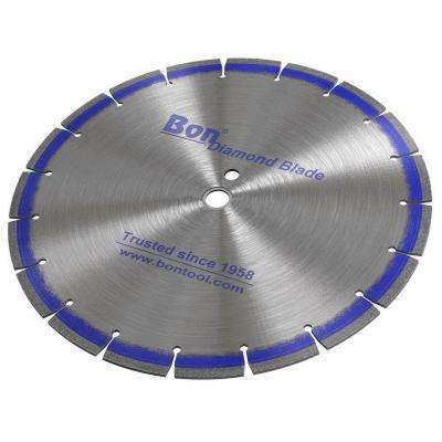 12 in. x 0.125 in. Blue Diamond Blade with Jumbo Segment