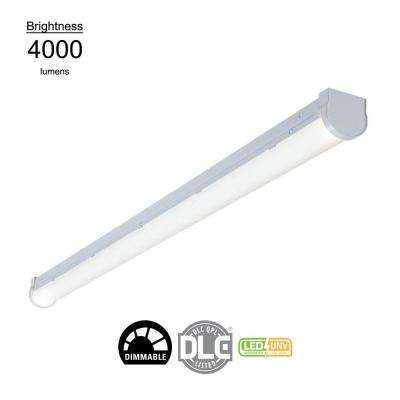 4 ft. Linear White Integrated LED Warehouse Strip Light with 4760 Lumens, 4000K, UNV Voltage