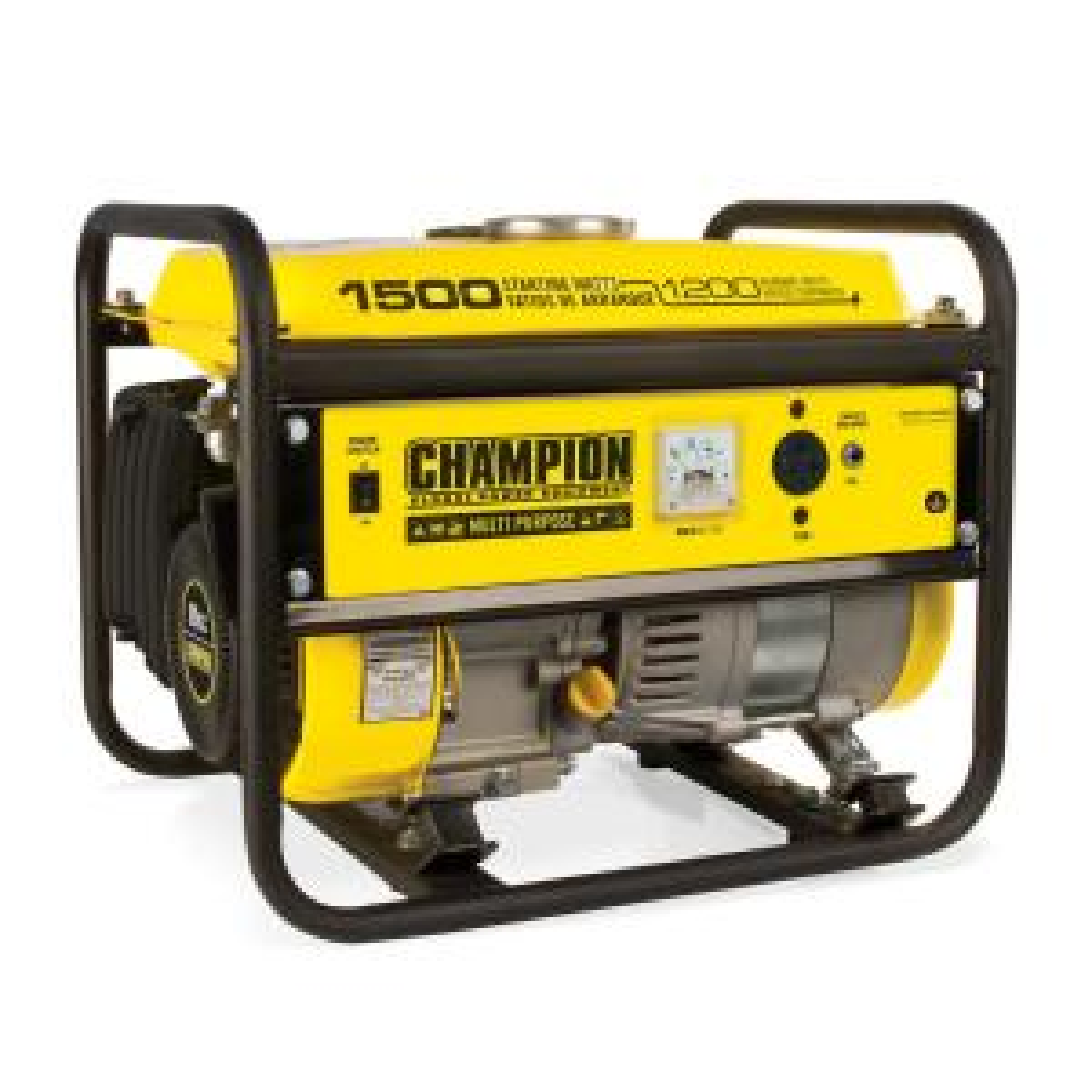 champion power equipment 1 200 watt recoil start gasoline powered portable generator 42436 the. Black Bedroom Furniture Sets. Home Design Ideas