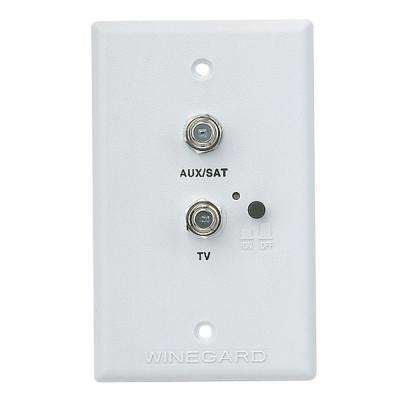 Wall Plate/Power Supply - White