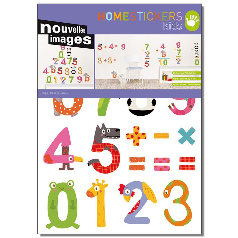 Multicolor Operations Home Sticker