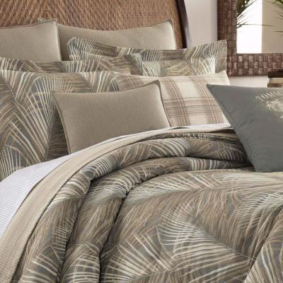 Raffia Palms Botanical Cotton Comforter Set