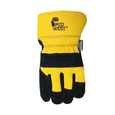 Men's Lined Glove - Yellow